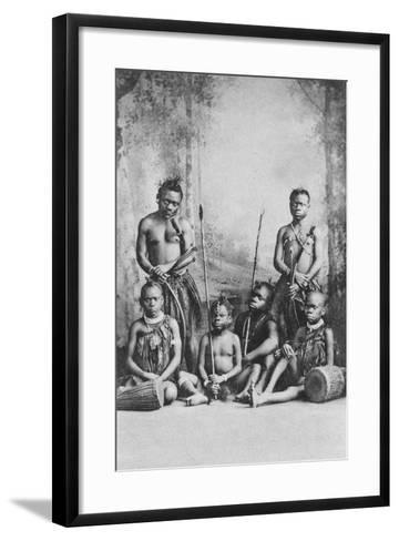 Pigmies, Early 20th Century-W&d Downey-Framed Art Print