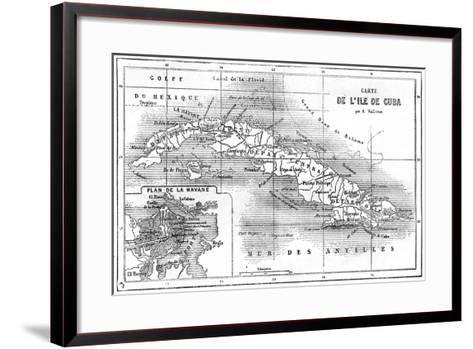 Cuba, 19th Century--Framed Art Print