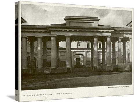 Yelagin Palace in Saint Petersburg, Between 1908 and 1912--Stretched Canvas Print
