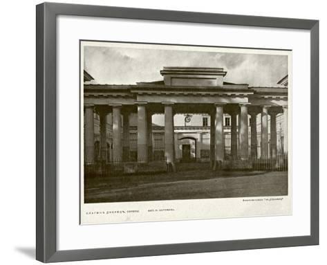 Yelagin Palace in Saint Petersburg, Between 1908 and 1912--Framed Art Print