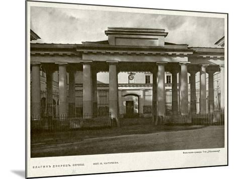 Yelagin Palace in Saint Petersburg, Between 1908 and 1912--Mounted Giclee Print