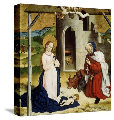 The Adoration of the Christ Child, C1470-C1480--Stretched Canvas Print