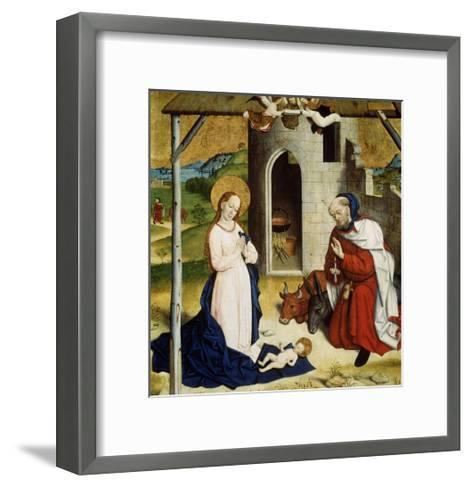 The Adoration of the Christ Child, C1470-C1480--Framed Art Print