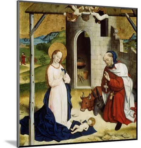 The Adoration of the Christ Child, C1470-C1480--Mounted Giclee Print
