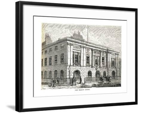 The Trinity House, 1878-Walter Thornbury-Framed Art Print