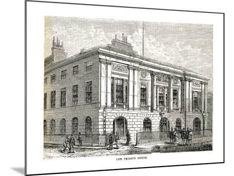 The Trinity House, 1878-Walter Thornbury-Mounted Giclee Print