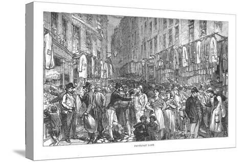 Petticoat Lane, 1878-Walter Thornbury-Stretched Canvas Print