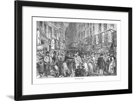 Petticoat Lane, 1878-Walter Thornbury-Framed Art Print