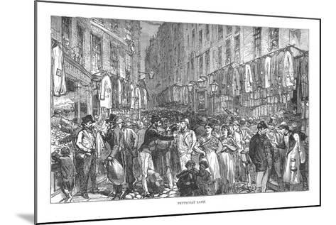 Petticoat Lane, 1878-Walter Thornbury-Mounted Giclee Print