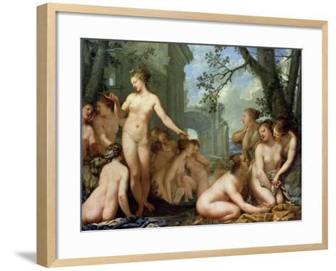 Diana and Callisto, 17th Century-Pietro Liberi-Framed Art Print