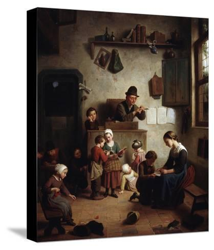 In the School, Early 19th Century--Stretched Canvas Print