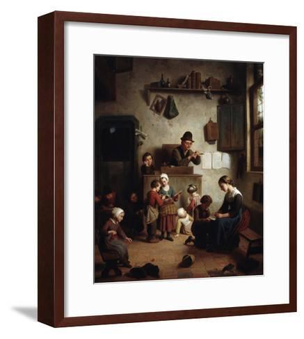 In the School, Early 19th Century--Framed Art Print