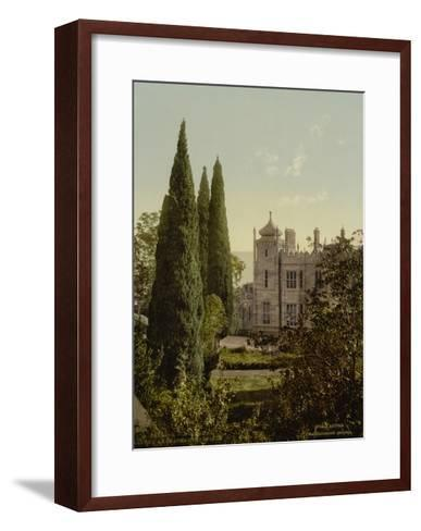 Alupka Imperial Palace, 1890S--Framed Art Print