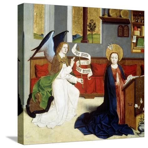 The Annunciation, C1470-C1480--Stretched Canvas Print