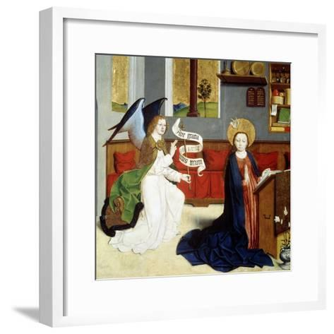 The Annunciation, C1470-C1480--Framed Art Print