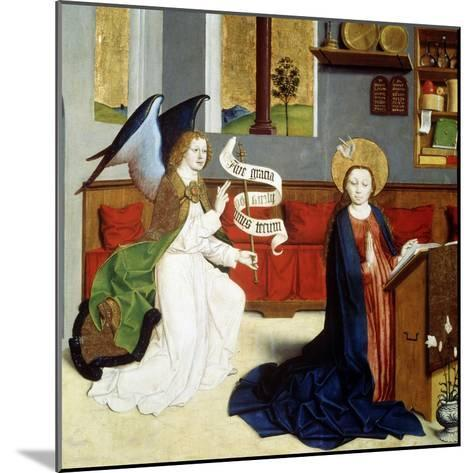 The Annunciation, C1470-C1480--Mounted Giclee Print