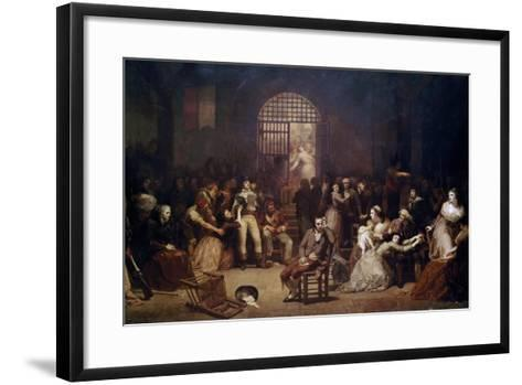 The Call for the Last Victims of the Terror, 7-9 Thermidor, Year 2-Charles Louis Lucien Muller-Framed Art Print