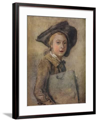 Portrait of the Artist as a Young Man-Francois Hubert Drouais-Framed Art Print