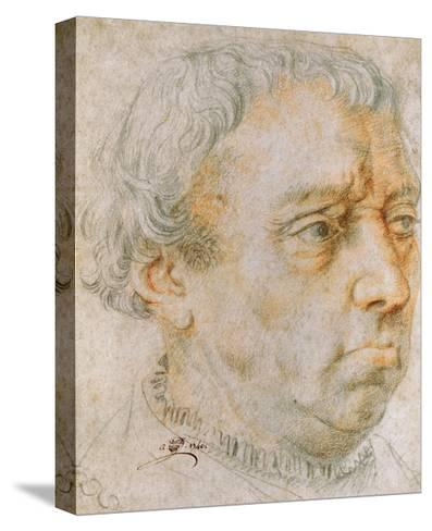 Portrait of a Man, 1740--Stretched Canvas Print