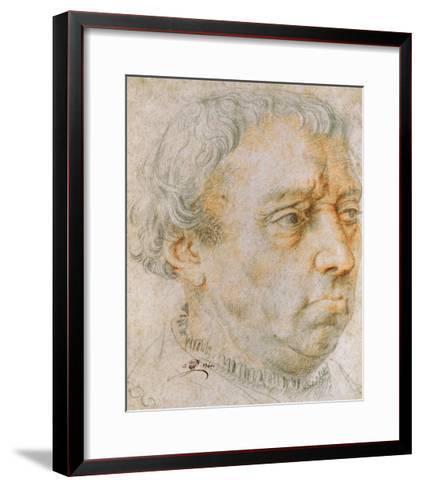 Portrait of a Man, 1740--Framed Art Print