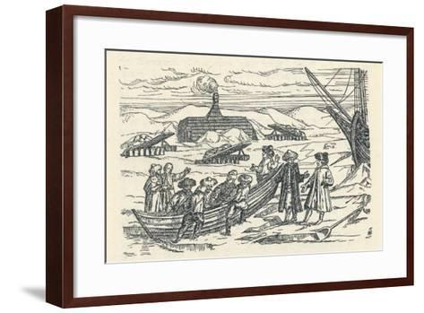 Barents in the Arctic: Hut Wherein We Wintered, 1912-Gerrit de Veer-Framed Art Print