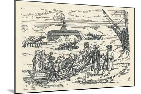 Barents in the Arctic: Hut Wherein We Wintered, 1912-Gerrit de Veer-Mounted Giclee Print