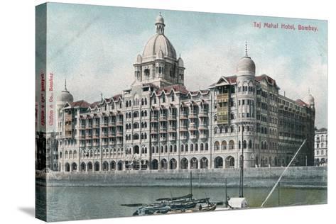 Taj Mahal Palace Hotel, Bombay, India, 20th Century--Stretched Canvas Print