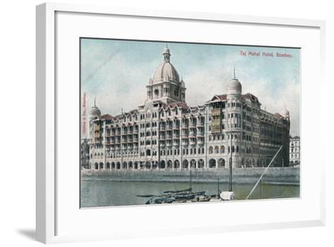 Taj Mahal Palace Hotel, Bombay, India, 20th Century--Framed Art Print