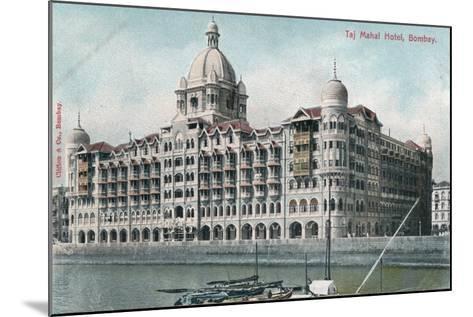 Taj Mahal Palace Hotel, Bombay, India, 20th Century--Mounted Giclee Print