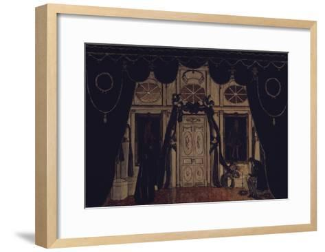 Stage Design for the Theatre Play the Masquerade by M. Lermontov, 1917-Alexander Yakovlevich Golovin-Framed Art Print