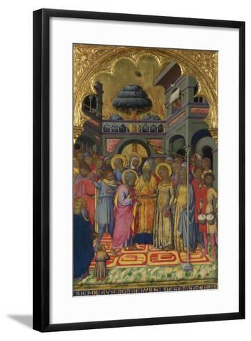 The Marriage of the Virgin, Ca 1380-Niccolò di Bonaccorso-Framed Art Print