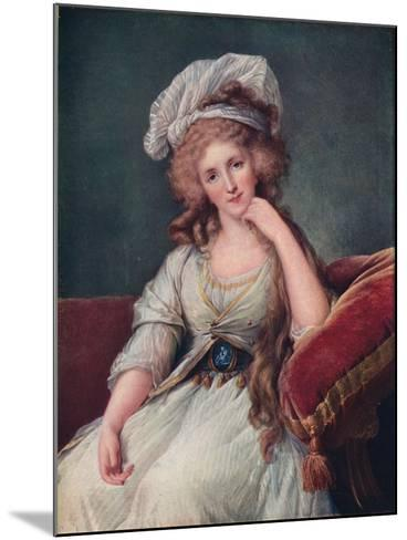Louise Marie Adelaide De Bourbon-Penthievre, Duchess of Orleans--Mounted Giclee Print