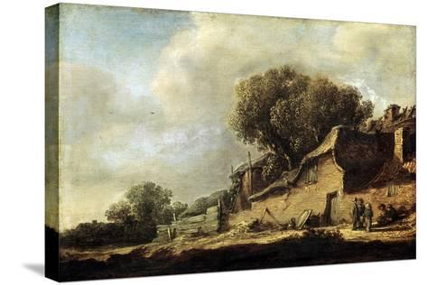 Landscape with a Peasant Cottage, 1631-Jan Van Goyen-Stretched Canvas Print