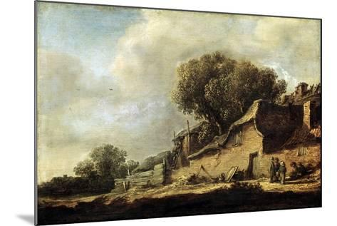 Landscape with a Peasant Cottage, 1631-Jan Van Goyen-Mounted Giclee Print