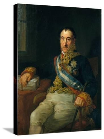 Don Pedro Gómez Labrador, Marquis of Labrador (1755-185)-Vicente López Portaña-Stretched Canvas Print