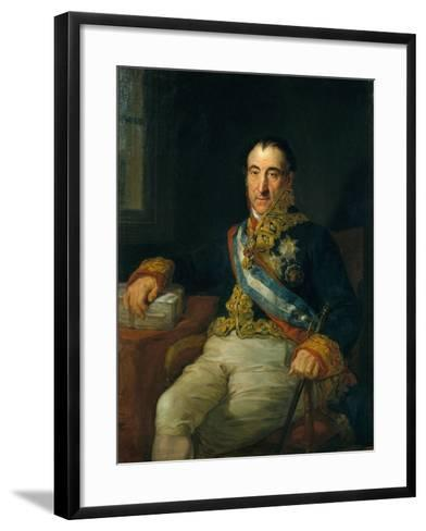 Don Pedro Gómez Labrador, Marquis of Labrador (1755-185)-Vicente López Portaña-Framed Art Print