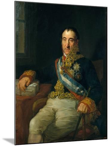 Don Pedro Gómez Labrador, Marquis of Labrador (1755-185)-Vicente López Portaña-Mounted Giclee Print