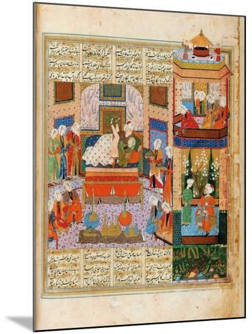 The Consummation of the Marriage Between Khusraw and Shirin--Mounted Giclee Print