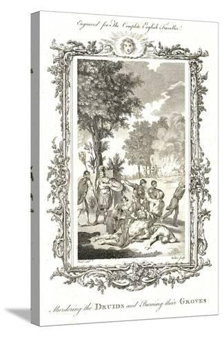 Murdering the Druids, C.1771-1772-Walker-Stretched Canvas Print