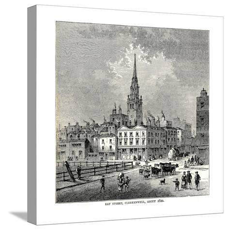 Ray Street, 1820--Stretched Canvas Print