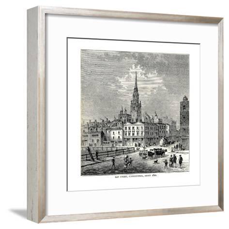 Ray Street, 1820--Framed Art Print