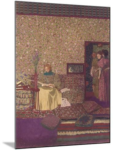 The Privacy. Decoration for the Library of Dr. Vaquez-?douard Vuillard-Mounted Giclee Print