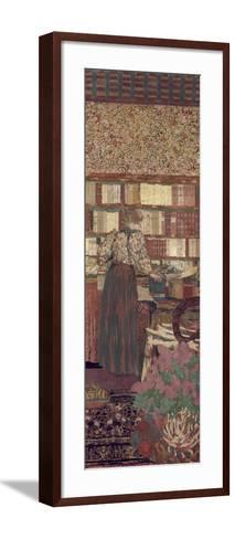 The Privacy. Decoration for the Library of Dr. Vaquez-?douard Vuillard-Framed Art Print
