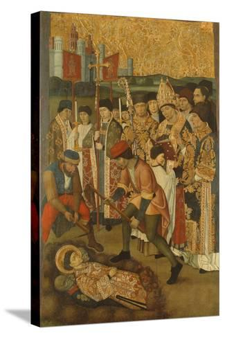 The Invention of the Body of Saint Stephen--Stretched Canvas Print