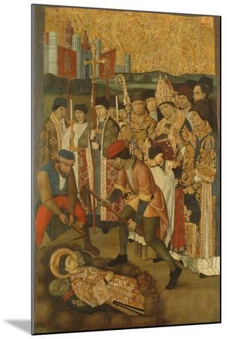 The Invention of the Body of Saint Stephen--Mounted Giclee Print