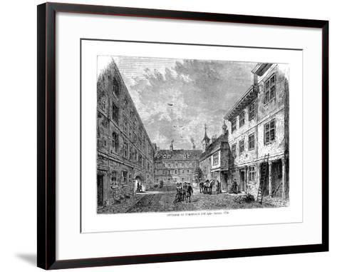 Interior of Furnival's Inn. 1754--Framed Art Print