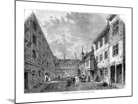 Interior of Furnival's Inn. 1754--Mounted Giclee Print