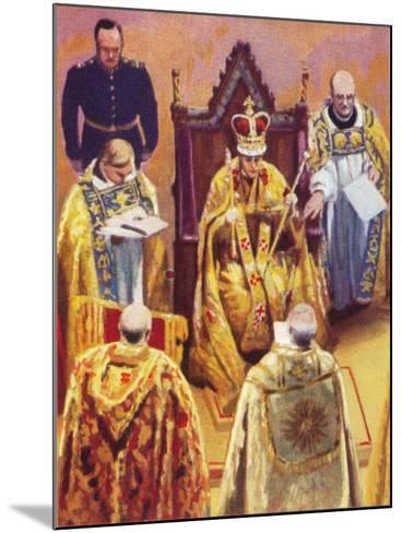 The Coronation of King George VI (1895-195), 12 May, 1937--Mounted Giclee Print