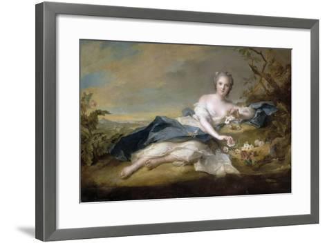 Princess Anne Henriette of France (1727-175)-Jean-Marc Nattier-Framed Art Print