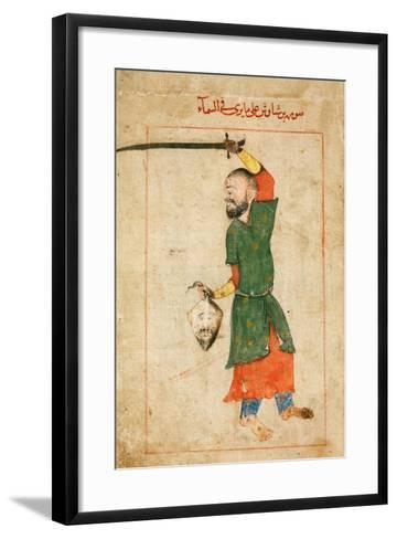 The Constellation Perseus (From the Book of Fixed Star) by Al-Sufi--Framed Art Print